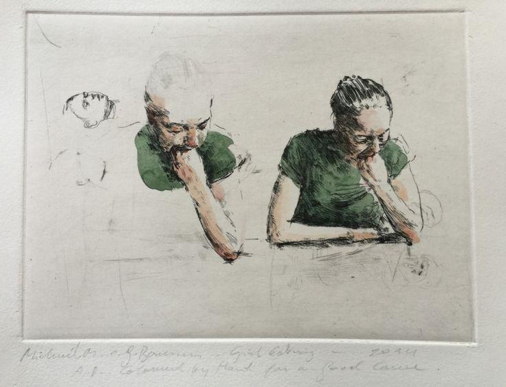 Werk van Michaël Borremans voor Kunst@Rode Kruis
