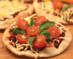 Pocket pizzas recipes - After school snacks
