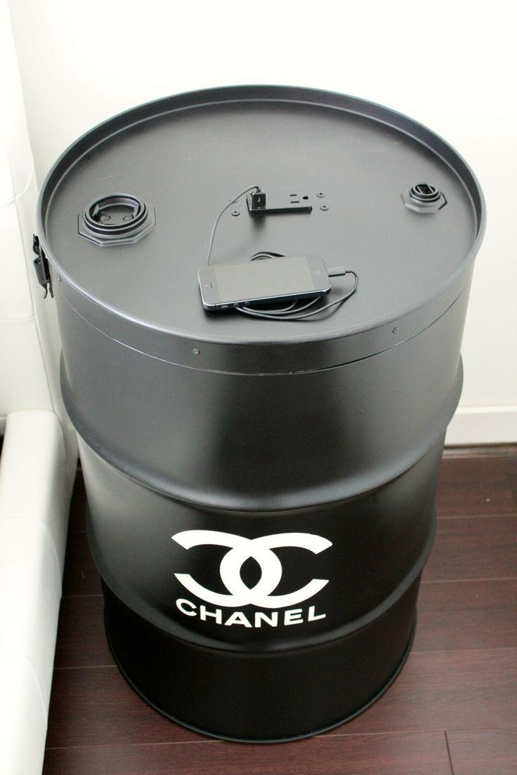 #diy #N°5 CHANEL PARIS PARFUM #oil drum