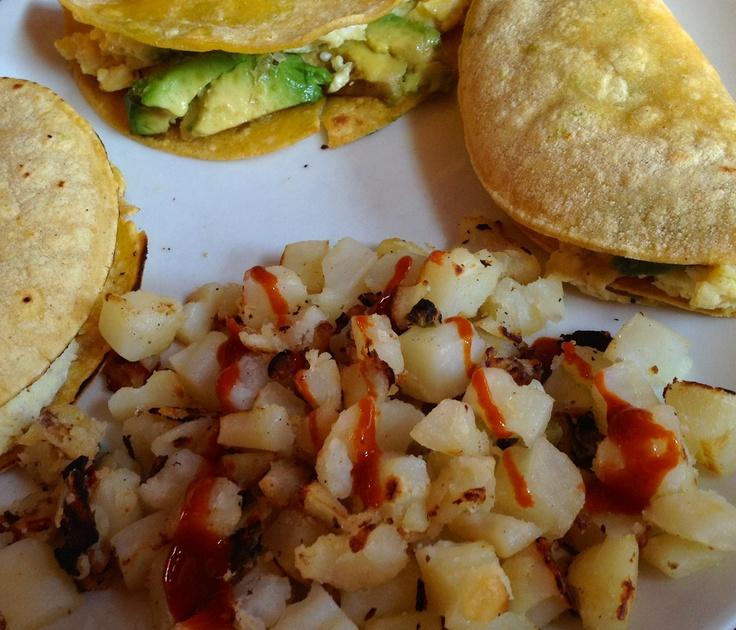 Sweet Potato Breakfast Tacos: Spicy Beef & Sweet Potato Tacos Recipe