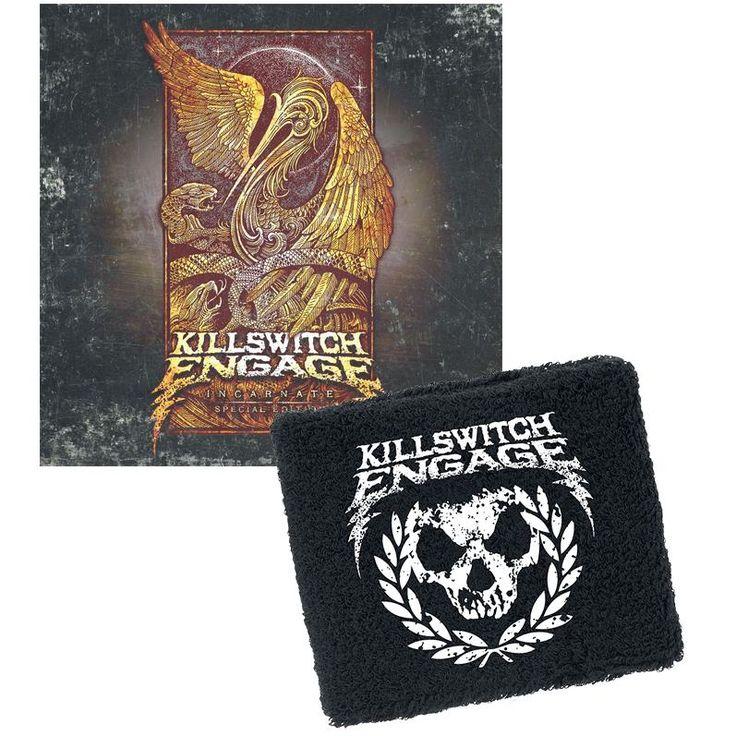 """Esclusiva EMP! L'album dei #KillswitchEngage intitolato """"Incarnate"""" in formato digipak con bonus track e polsino inclusi. Solo fino ad esaurimento scorte."""