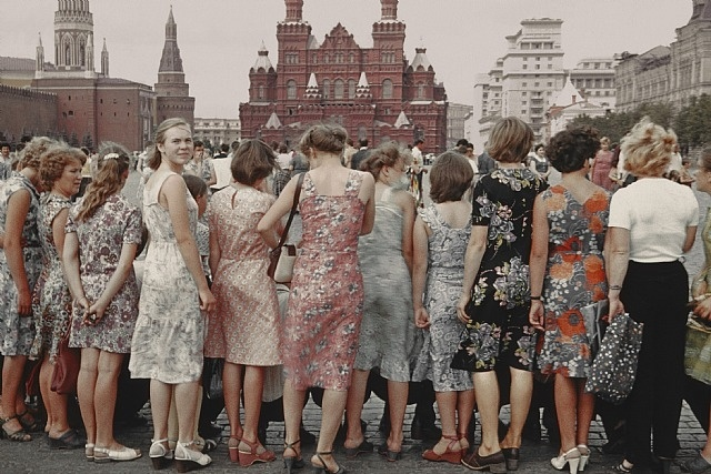 Boris Savelev, Red Square girls, Moscow