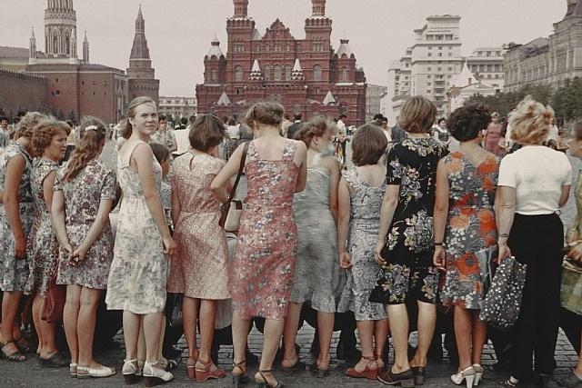 Boris Savelev, Red Square girls, Moscow