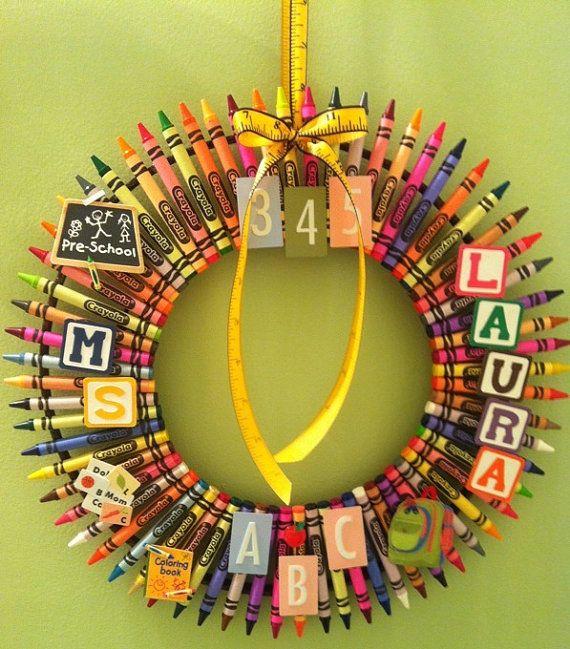 pre-school wreath