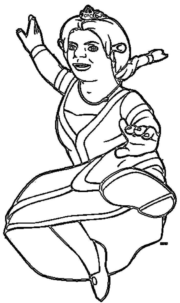 Shrek Coloring Page WeColoringPage 22 Coloring pages