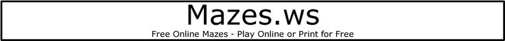 ALL levels of mazes to print or do online :)