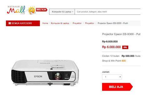 Ingin tahu cara membeli proyektor terbaru yang bagus dan murah? Kunjungi saja MatahariMall.com yang jual proyektor murah terbaru, ada potongan harganya loh!