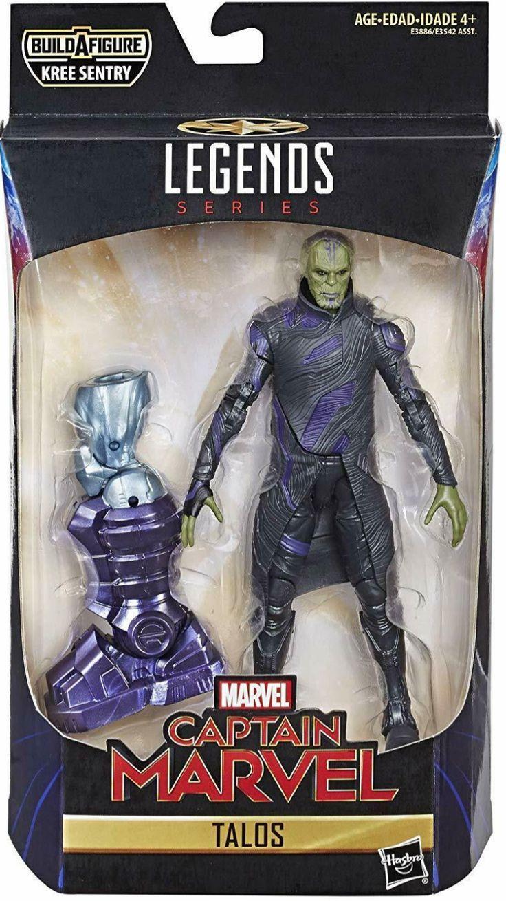 """Captain Marvel Marvel Legends Talos 6"""" Action Figure BAF"""