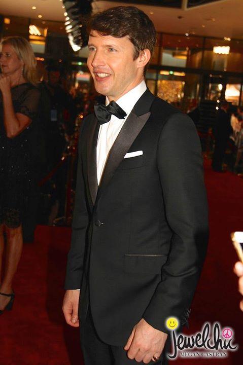 James Blunt at the Logie Awards, Melbourne, Australia
