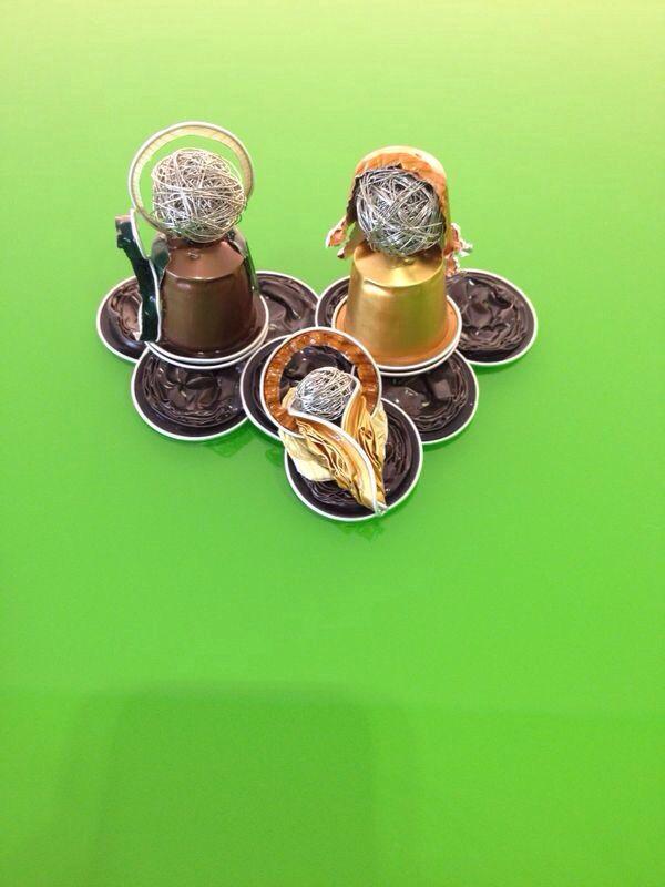 Nacimiento de capsulas nespresso