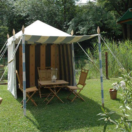 Summer cabana.  http://www.indiangardencompany.com/indian-jaipur-tents/summer-cabana-1_5-x-1_5.aspx