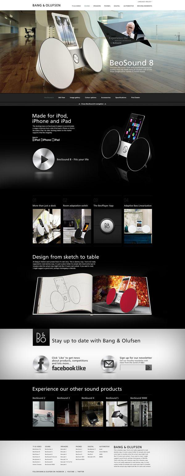 BeoSound 8 - Redesign 2011