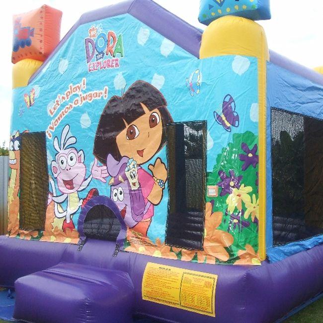 Dora the Explorer Bouncy Castle  #inflatable castle #bouncy #castle