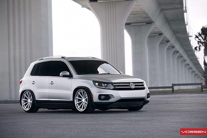 Good God!!! VW Tiguan on Vossen Wheels.