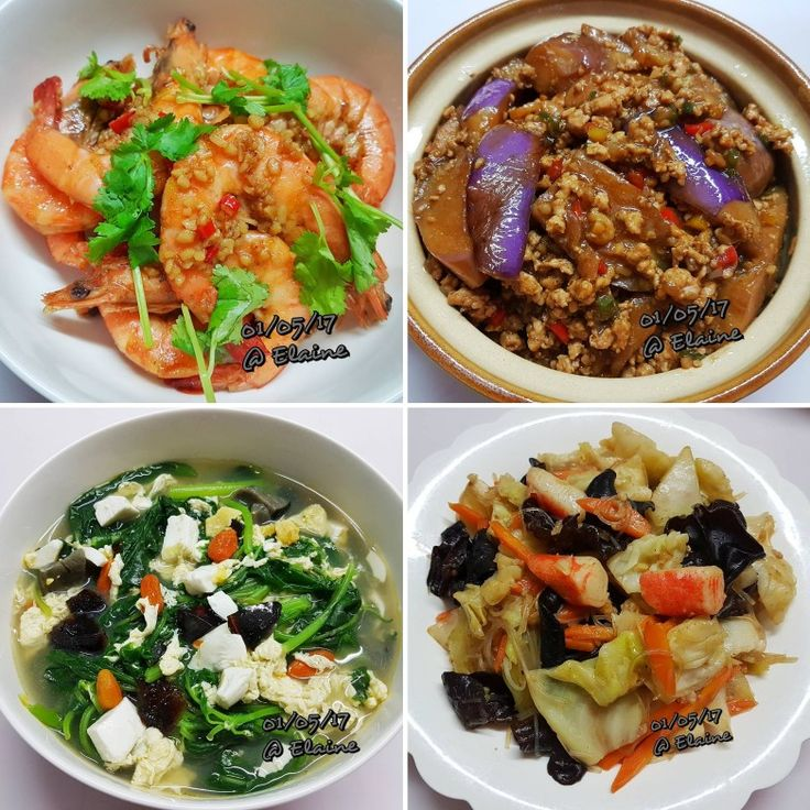 Garlic Butter Prawn (蒜蓉牛油虾) Claypot Eggplant with Mince Meat (砂锅茄子肉碎) Spinach soup with wolfberries, egg, salted egg and century egg (枸杞子三蛋苋菜汤) Mixed vegetables (杂菜) . . . .  #sgfood #sg #dinnertime #dinner #homecooked #homemade #eggplant  #mincemeat #prawns #garlic #butter #spinach #wolfberries #egg #saltedegg #centuryegg #vegetables #healthyeating #healthy #healthyfood #glassnoodle #family #loveones #happy #familymeal