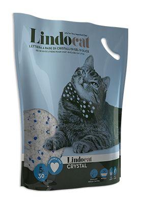Lindocat Crystal è una lettiera igienica composta da pregiati cristalli di gel di silice, materiale anallergico e totalmente innocuo per il tuo gatto.