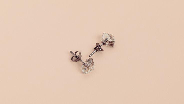 Herkimer Diamond / Studs