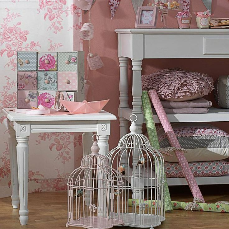 jaulas vintage decoracion