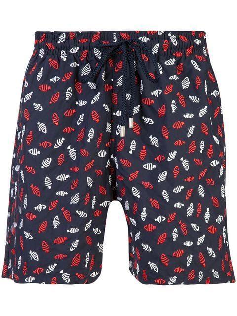 1106e95ef9 Vilebrequin Fish Print Swim Shorts in 2019 | Fashion | Swim shorts ...