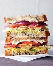 Greek Salad Sandwich - Martha Stewart Recipes