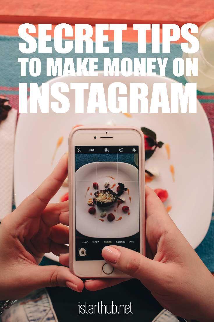 Make money on Instagram: Secret tips from popular bloggers