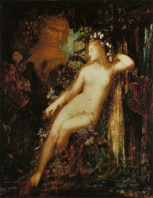 Gustave Moreau - Galatée, c. 1880
