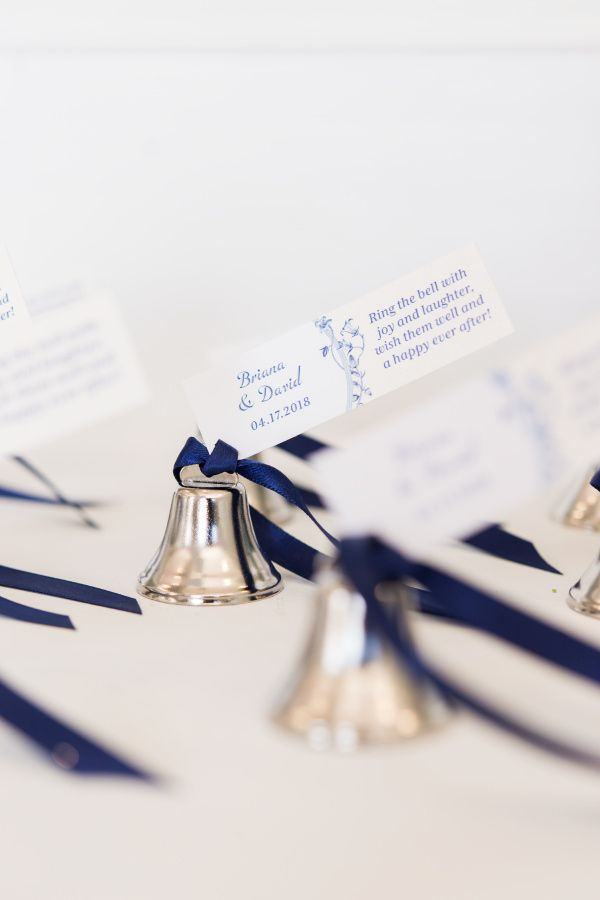 Mini Wedding Bells Favor Silver 24 In 2018 Wedding Favors