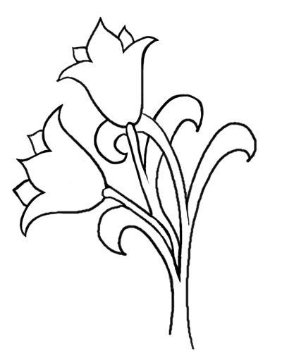 Free Pattern: Tulips ala William Morris – Needle'nThread.com