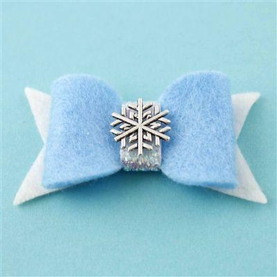 Queen Elsa Hair Bow - Spiffing Jewelry - Disney - Frozen