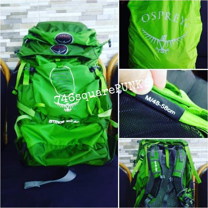 FOR SALE!  #OSPREY #Atmos AG 50 #Rucksack Price : Call Us! Condition : ORIGINAL. 100% Brand New With Tag Torso : M  Follow : · Twitter : @746squarepunk_S · IG : @746squarepunks  Orders : · Phone : +62856 11 746 13 ( Message Only. ) · Line : 746squarepunks_INA · E_mail : 746squarepunksstore@gmail.com