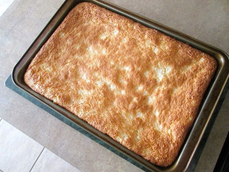 Heavenly Pineapple Angel Food Cake