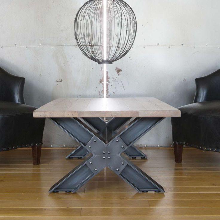 Les 25 meilleures id es de la cat gorie table basse chene for Table basse loft industriel