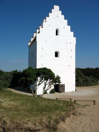 Sand Church, Den Tilsandede Kirke. Jutland, Denmark