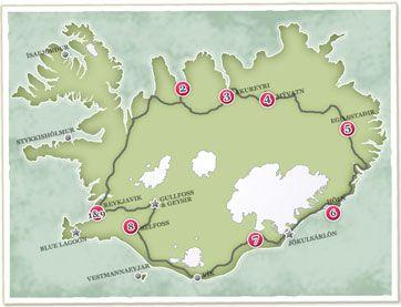Iceland Circle Winter