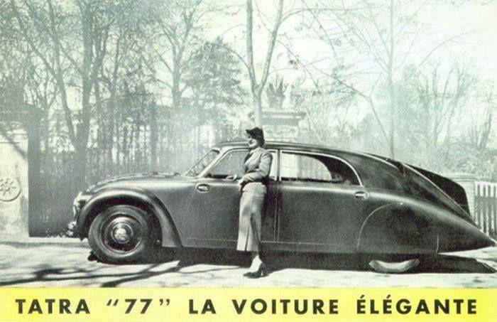 "Age of Diesel — Tatra 77, ""The Elegant Car."" 1934"