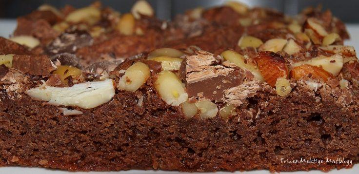 Brownies med nøttegodt