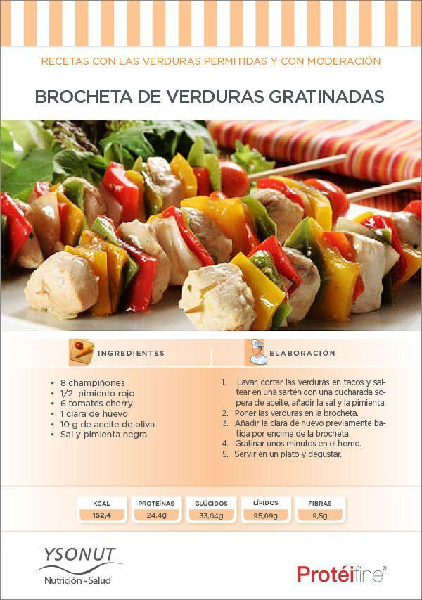 """El verano está pensado para compartir con los amigos… ¡cómo """"me gusta"""" unas Brochetas de Verduras gratinadas! ¡¡¡Para compartir bien acompañad@s!!!"""