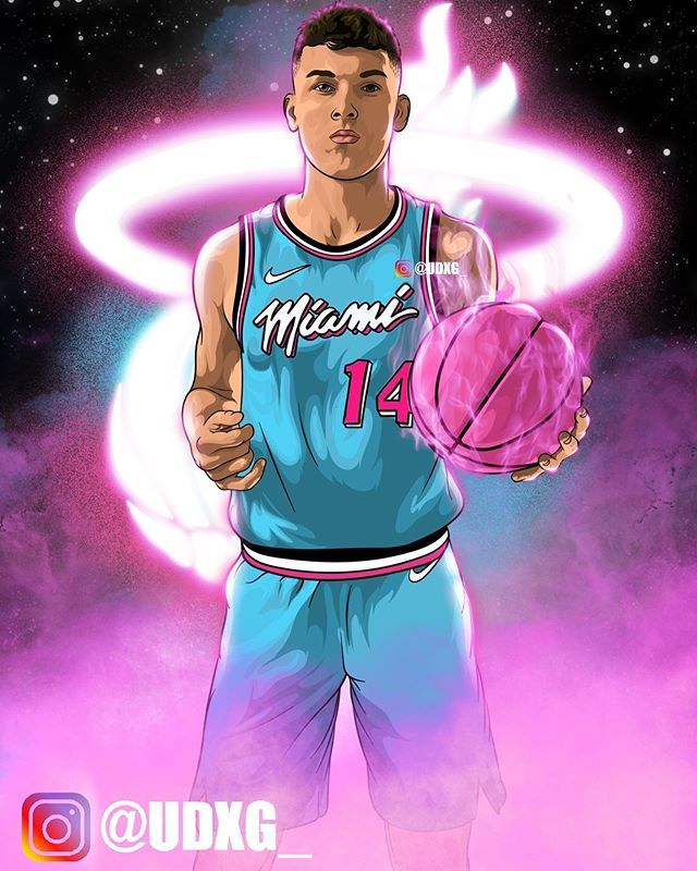 Unique Gipson On Instagram Nolimitherro Tag Nolimitherro Swipe For Image Tyle In 2020 Nba Miami Heat Nba Pictures Nba Basketball Art