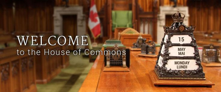 WEBSITE: Welcome to the House of Commons of Canada