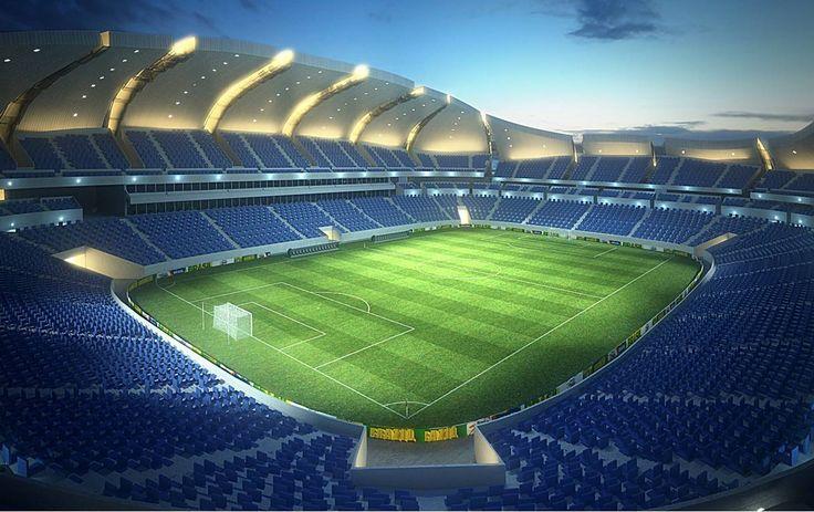 Arena das Dunas Stadium, Natal, RN, Brazil.