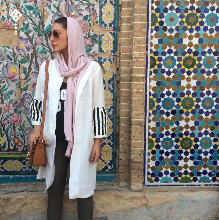 The Tehran Times — Manteau: Marsha  Shawl Termeh  Jeans Koton...