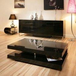 Delightful 397ABLACKGLOSSLR3 1200x700 Black Gloss Coffee Table