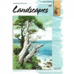 Leonardo Collection Desen Kitabı #16 Landscapes