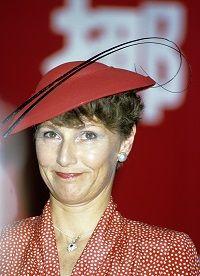 Queen Sonja of Norway, in the 1980s