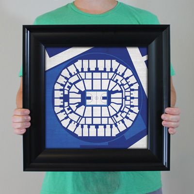 FedExForum - University of Memphis in Memphis, Tennessee. City Prints Map Art