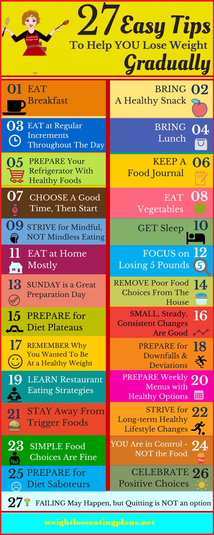 27 easy tips to help you lose weight gradually, Weight loss eating plans programs #weightloss .#diet #calories #diettips #womenhealth