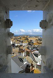 Rooftops of St Ives, Cornwall