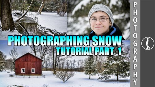 Today at 3:30 PM EST:Photographing Snow Tutorial: Part 01 by...