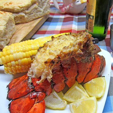 Grilled Maine Lobster Tail