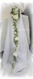Brautstrauß Silber extra lang   – Brautsträusse